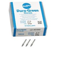 Shofu Dura Green Fl2 Silicon Carbide Finishing Stones Fg 12 Per Box Sh 0104