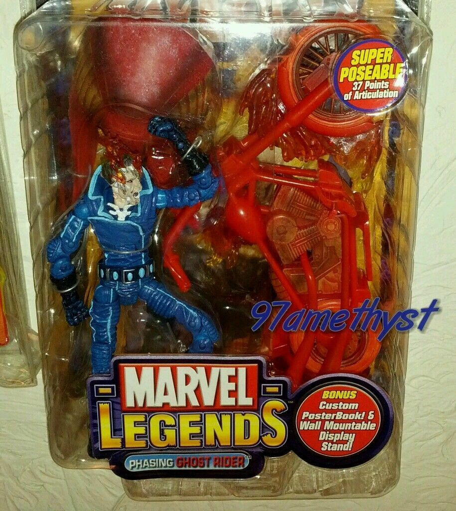 Marvel Legends Phasing Ghost Rider Series VII MOC Factory ERROR