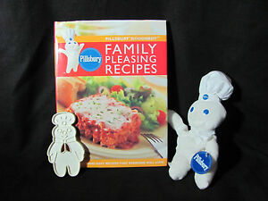Plush Pillsbury Doughboy Cookie Cutter Cookbook 170 Family Pleasing Recipes 9780609608609 Ebay