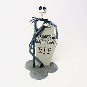 "DISNEY The Nightmare Before Christmas Bobbinghead Jack & Zero 12"" Figurine NIB"