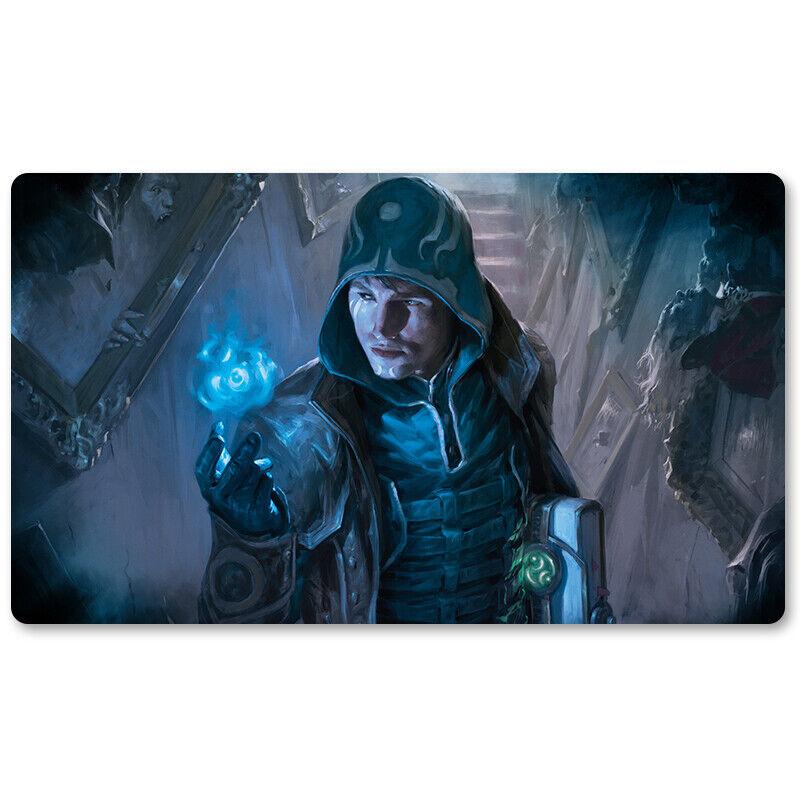 Jace Unraveler of Secret-Board Game MTG Playmat Games M