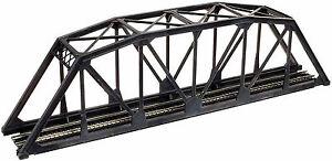 Atlas-N-Code-55-Black-TROUGH-TRUSS-BRIDGE-KIT-Item-2070-New
