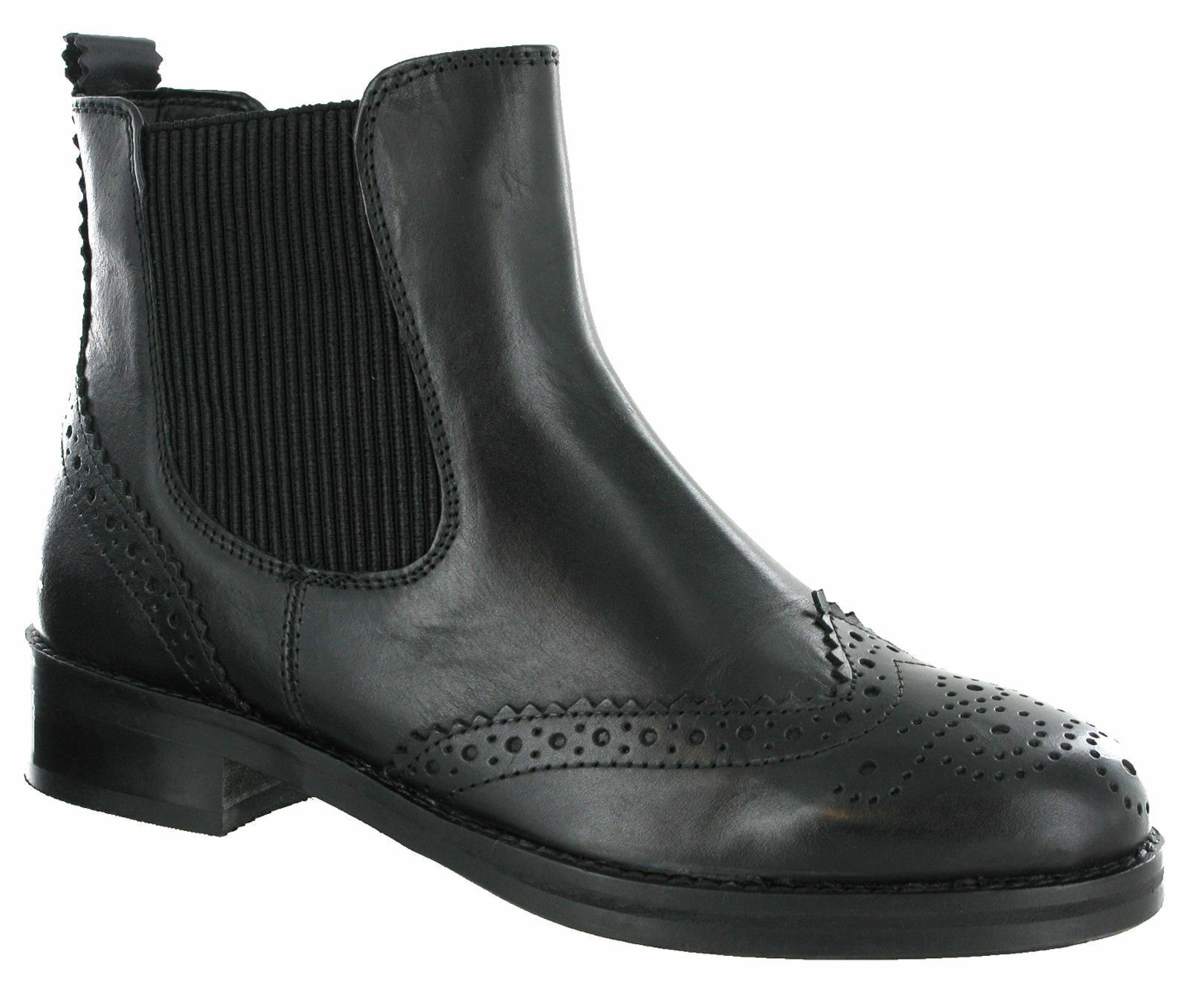 Cipriata Boots Twin Gusset Brogue Leather Boots Cipriata Ankle Horse Riding Equestrian Womens 0d9dca