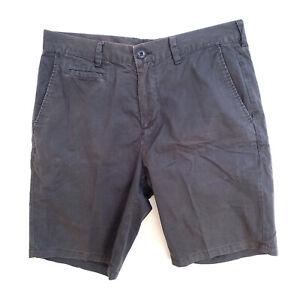 Country-Road-Mens-Shorts-Grey-Chino-Size-32