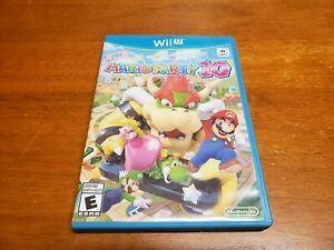 Mario Party 10 (Nintendo Wii U, 2015) CIB Complete TESTED Fast Shipping WiiU