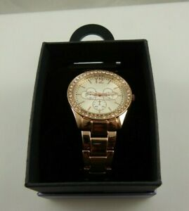 Rose-goldtone-large-womens-watch-hearts-crystal-bling