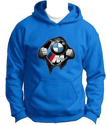 NEW BMW INSIDE VENOM Hoodie Hoody Hooded Sweatshirt Jumper Pullover