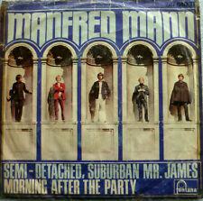 "7"" 1966 VG++ ! MANFRED MANN : Semi-Detached Suburban Mr. James"