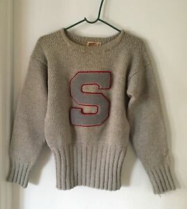Vintage SWARTHMORE COLLEGE Varsity Letterman Sweater by PRINCETON