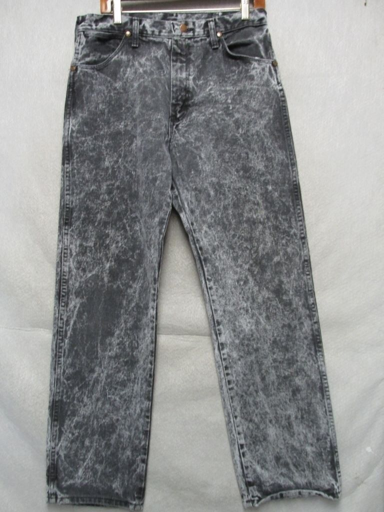 A8403 Wrangler 13MWZWK USA Made Cool Acid Washed Jeans Men 32x31
