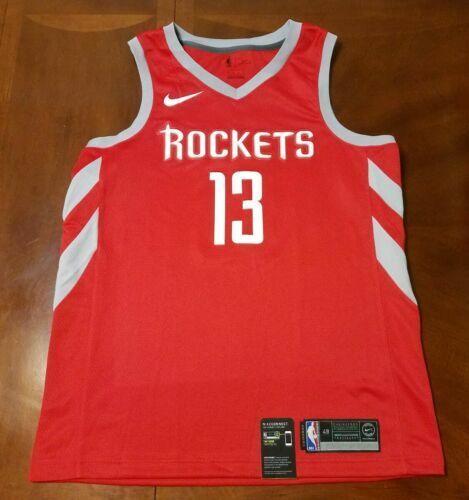 Nike Icon NBA Houston Rockets James Harden 13 Swingman Jersey Mens 48 L for sale online | eBay