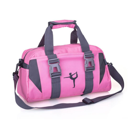 Women Yoga Gym Bag Waterproof Nylon Shoulder Crossbody Sport Travel Fitness Hot