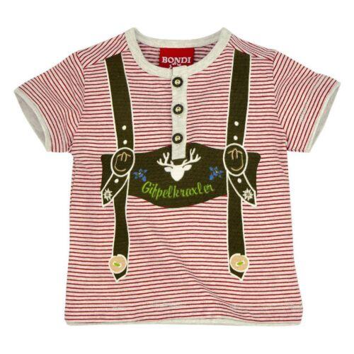 91003 Bondi Trachten Jungen Tshirt Polo Poloshirt Neu 62-116