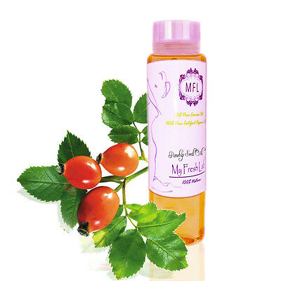100% PURE PREMIUM ORGANIC ROSEHIP SEED OIL COLD PRESSED 2 oz ROSE HIP U