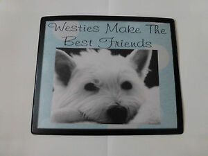 Image is loading Westie-Gifts-Keyring-Mousemat-Coaster-Magnets