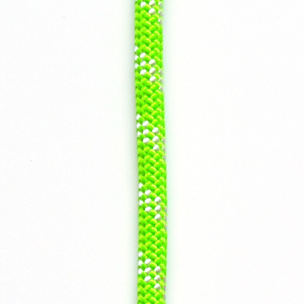 ATAR Static kernmantle rescue rope 7 16  11mm x 200ft Lime Green 7500 lbs MBS