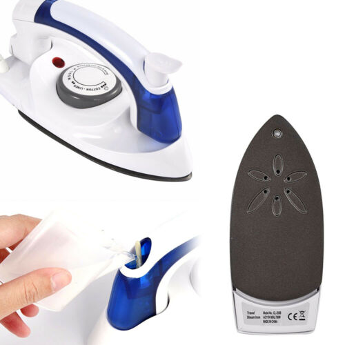 Mini Portable Foldable Electric Steam Iron For Clothes 3 Gears Baseplate