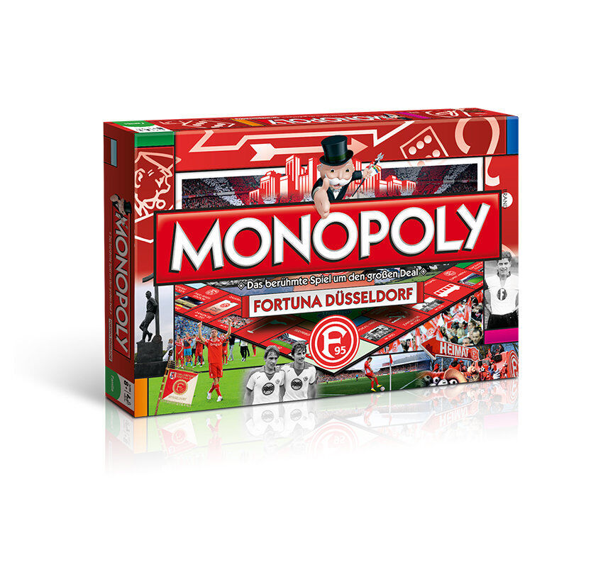 Monopoly Fortuna F95 Düsseldorf Football Game Board Game Party Game