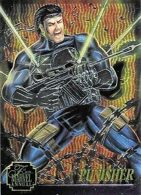 MARVEL FLAIR ANNUAL 1995 FLEER CHROMIUM INSERT CHASE CARD 10 OF 12 BISHOP