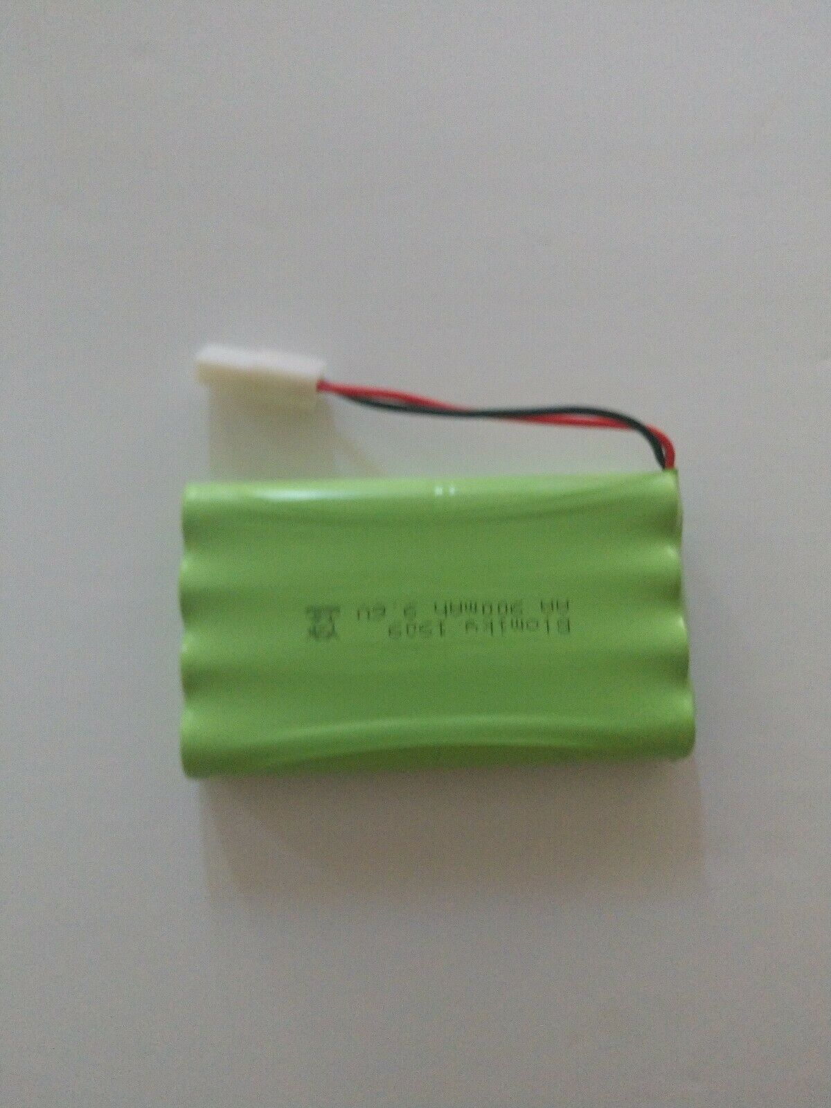 (2) 9.6V AA NiMH Ni-MH Battery Packs Rechargeable With L6.2/SM/JST Connector C2D