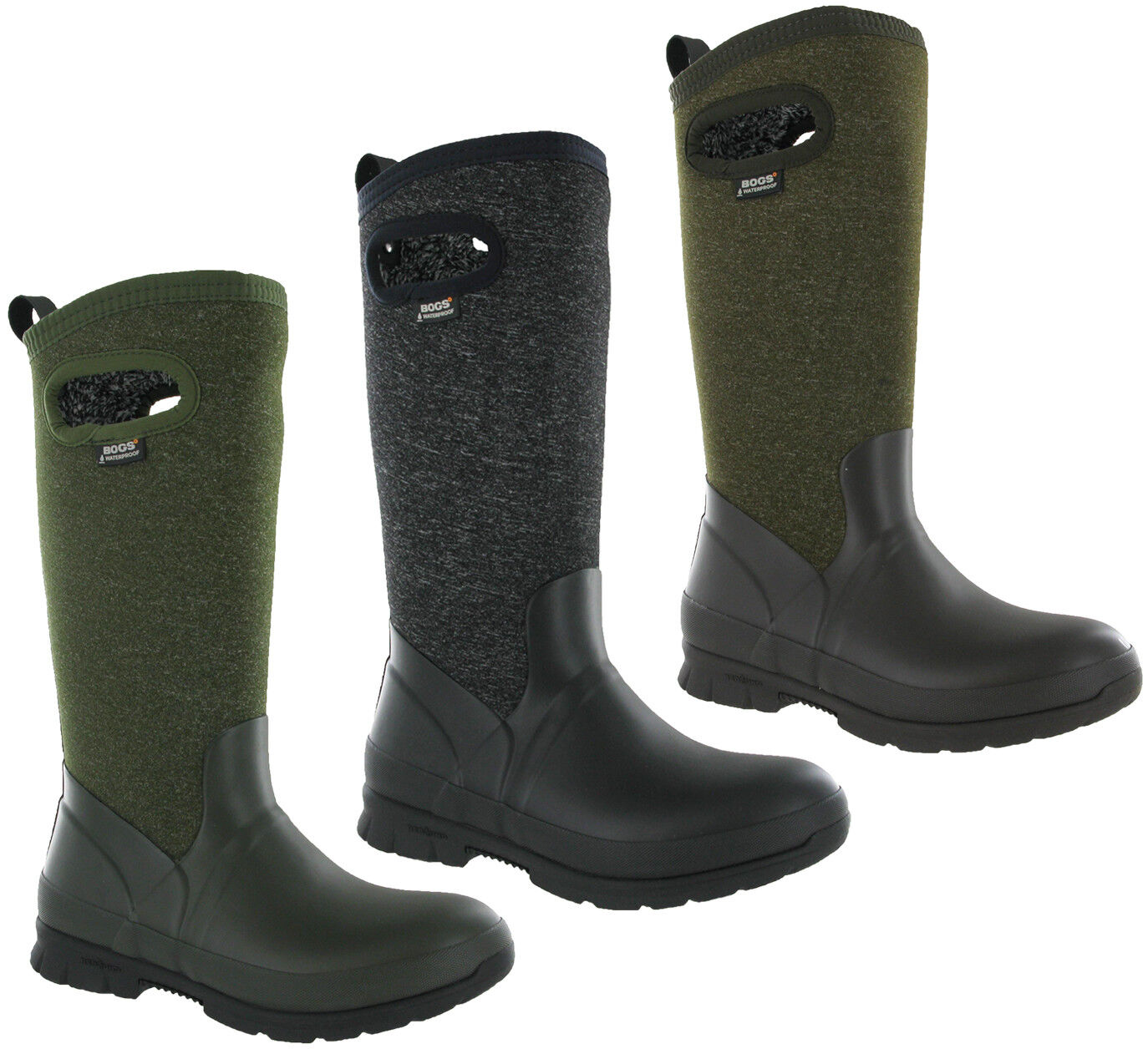 BOGS Crandall Wellingtons  Boots Womens Fur Lined Waterproof Winter - 25c 72036  outlet online store