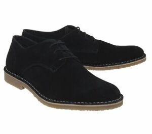 Mens Office Celsius Desert Shoe Black