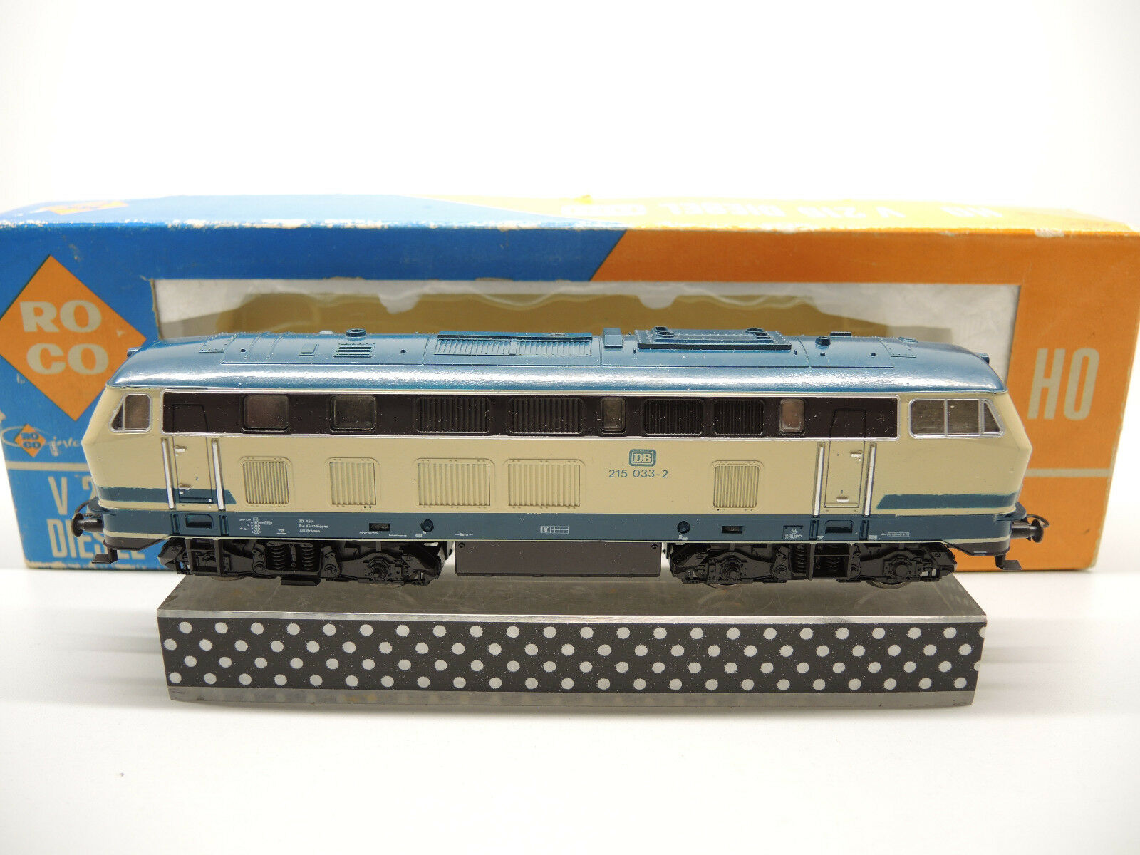 ROCO 4151, ELok BR 215 0332 delle DB, molto bencome nuovo cambio di luce, OVP 100