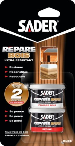 Epoxy répare bois Sader 94 g