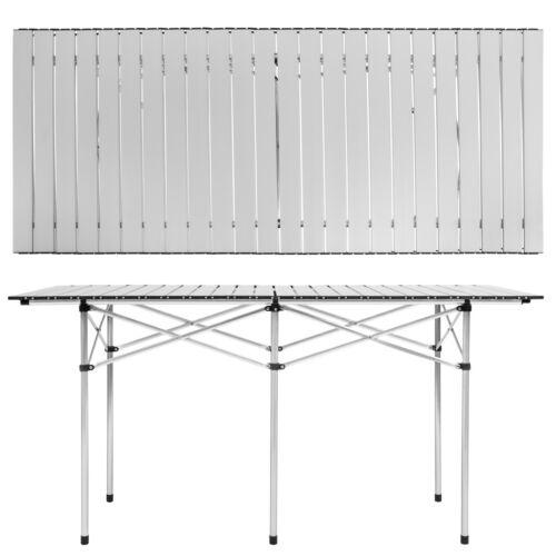 Aluminium Campingtisch Rolltisch Klapptisch Falttisch Gartentisch B-Ware