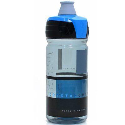 elite crystal ombra squeezable water bottle 550 ml clear x blue ebay ebay