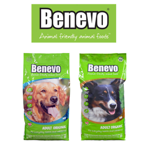 Details About Benevo Vegetarian Dog Food 15kg Bags