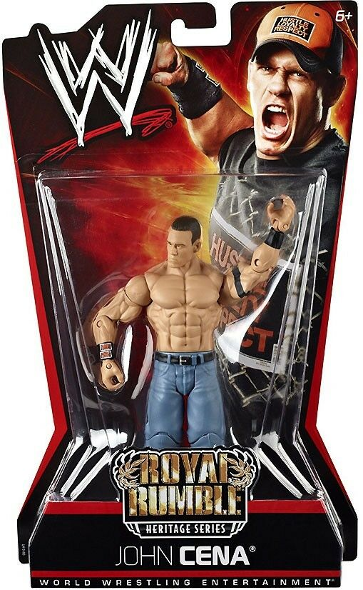 Pay Per View Series 6 Royal Rumble Heritage John Cena Action Figure