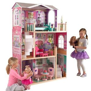 jumbo furniture dollhouse american girl toy tall doll play house