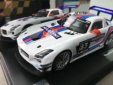 """Carrera Digital 124 23825 Mercedes Benz SLS AMG GT3 """"Martini No. 33"""", Hankook"""