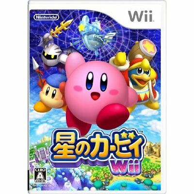 Used Wii Kirby S Return To Dreamland Japan Import 4902370519273 Ebay
