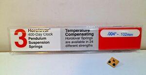 New-Horolovar-Suspension-Spring-Repair-Kit-Schatz-49-400-Day-Anniversary-Clock