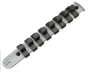 1-2-4-8-10-1-2-034-Socket-Rail-Set-SOCKETS-RETAINING-STORAGE-HOLDER-0-5-inch