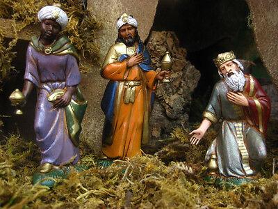 Landi Nativity Scene Wise Men Presepio Manger Kings Reyes Magos Pesebre