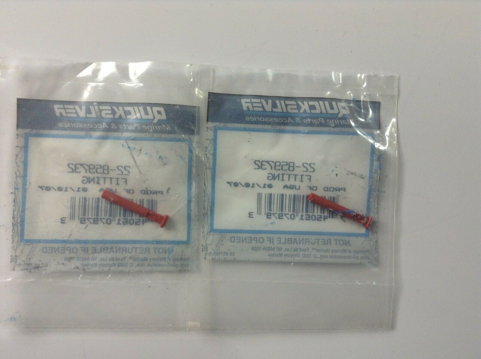 Details about  /V35 Genuine Mercury Quicksilver 23-29055 Spacer OEM New Factory Boat Parts
