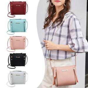 Women-Shoulder-Bag-Handbags-PU-Leather-Crossbody-Purse-Tote-Satchel-Fashion-Lot