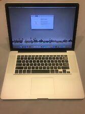 "Apple MacBook Pro 15"" A1286 (Mid-2012) Core i7 8GB 2.3GHz 750GB"