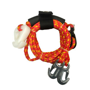 Boat-Tow-Y-Harness-Water-Tube-Towable-Tow-Harness-Rope-Line-Pulley-Towables