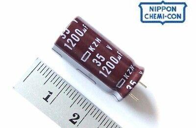 Elko Panasonic FC 1200uf 50v 105 ° C low Impedance condensador radial 860397