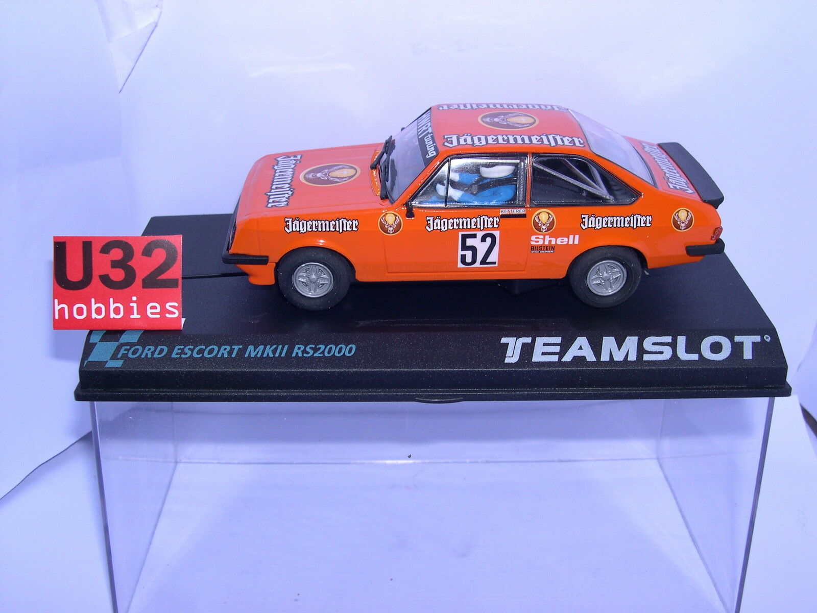 Team Slot 12704 Ford Escort Mkii Rs2000 Auerberg'81 Ketterer MB
