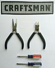 New Craftsman Professional 2 Piece Plier Set 9-45415
