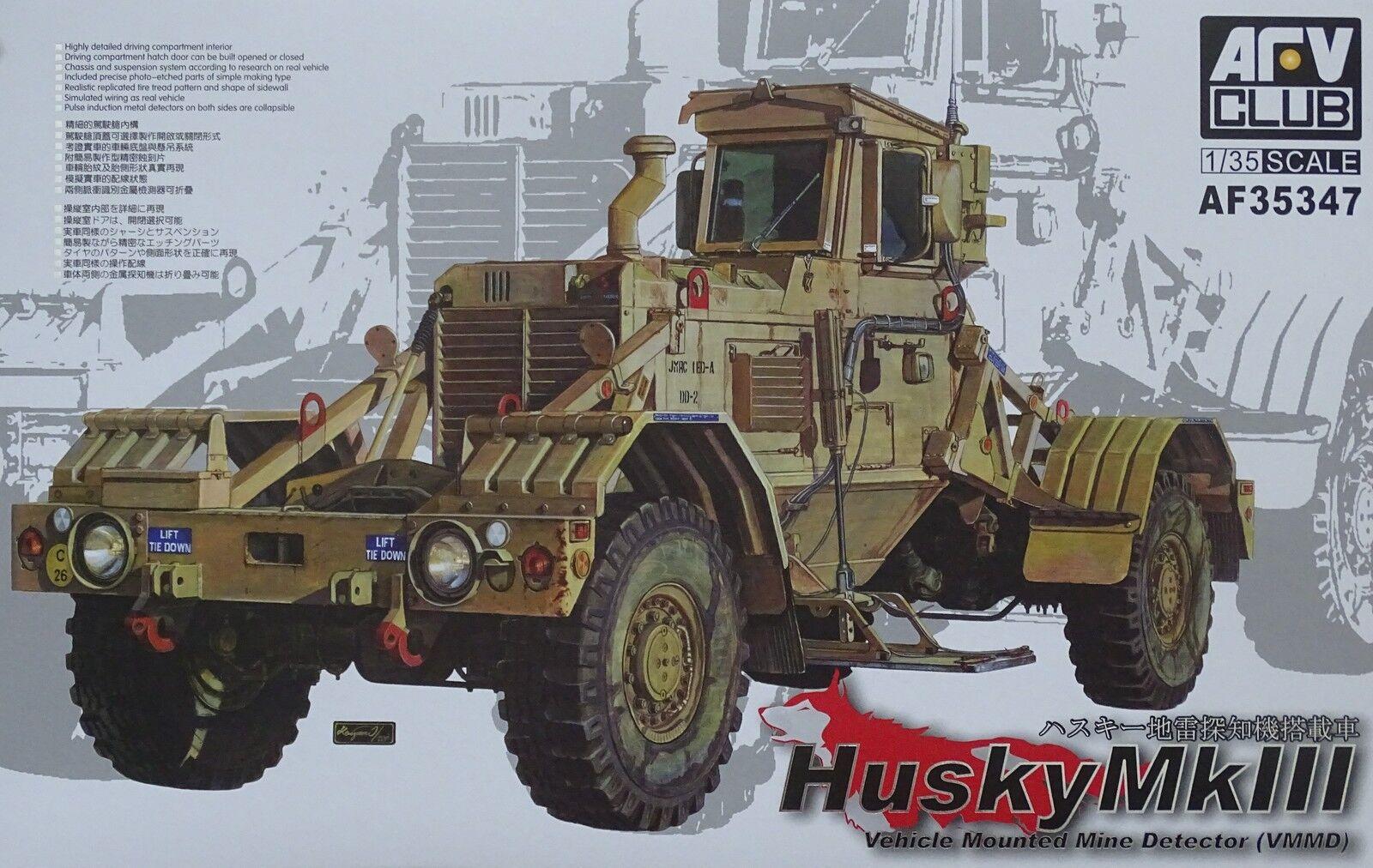 AFV CLUB 35347 Husky VMMD Vehicle Mounted Mine Detector Mk.III Mk.III Mk.III in 1 35    Bunt,  e2dea8