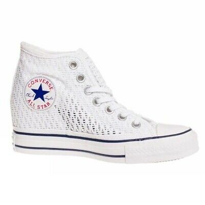 Converse ALL STAR MID LUX TINY PIZZO SNEAKER CASUAL art. 552697C | eBay