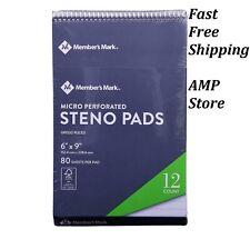 Members Mark Steno Pad 6 X 9 12 Pack Free Shipping
