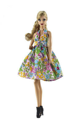 Blue Fashion Princess Party Dress//Evening Clothes//Gown For 11.5in.Doll S331