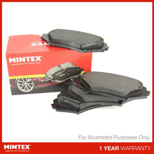 Nouveau fits nissan juke F15 1.5 dci authentique mintex arrière plaquettes de frein set